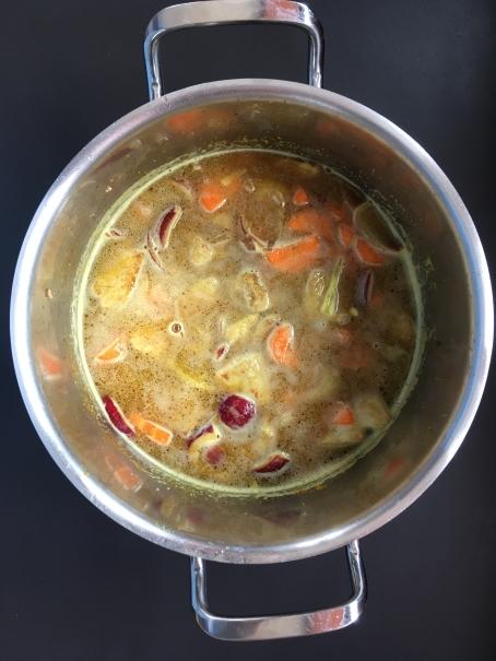 Cuisson 3 du sauté de porc bio curry coco cocorimag