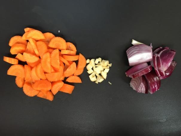 préparation du sauté de porc bio curry coco cocorimag