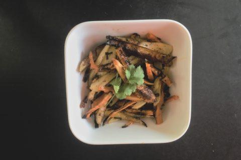 les frites de carottes et pomme de terre au four cocorimag